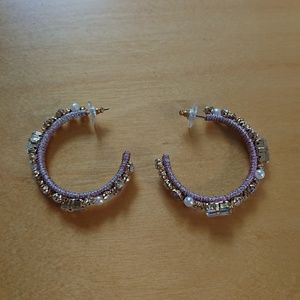 Emmaretta hoop earrings NWOT